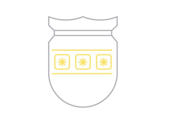 Print on Demand: Shield Password Graphic Icons By Iconika
