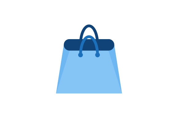 shopping bag vector logo graphic by hartgraphic creative fabrica shopping bag vector logo