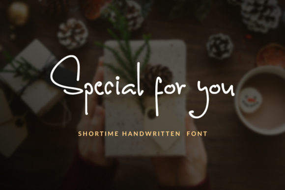 Print on Demand: Shortime Script & Handwritten Font By Subectype - Image 11