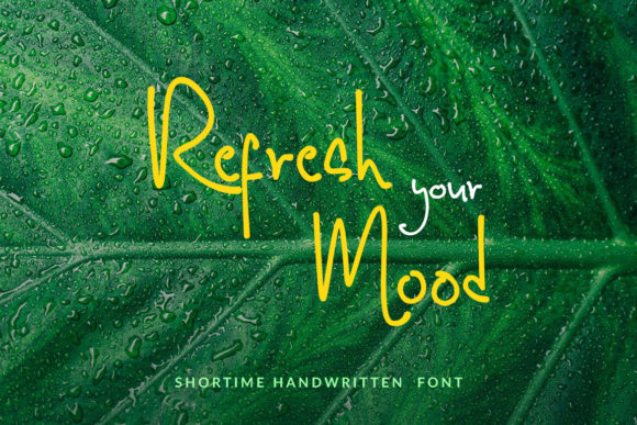 Print on Demand: Shortime Script & Handwritten Font By Subectype - Image 6