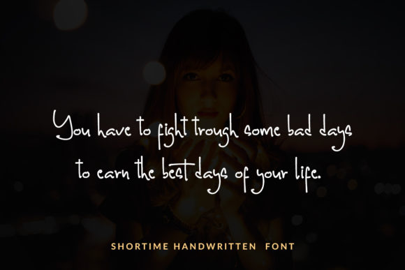 Print on Demand: Shortime Script & Handwritten Font By Subectype - Image 9