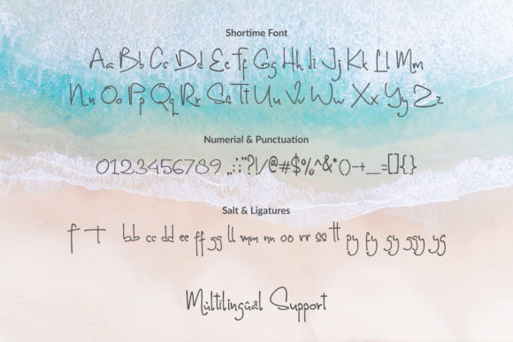 Print on Demand: Shortime Script & Handwritten Font By Subectype - Image 10