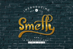 Print on Demand: Smelly Display Font By getypes