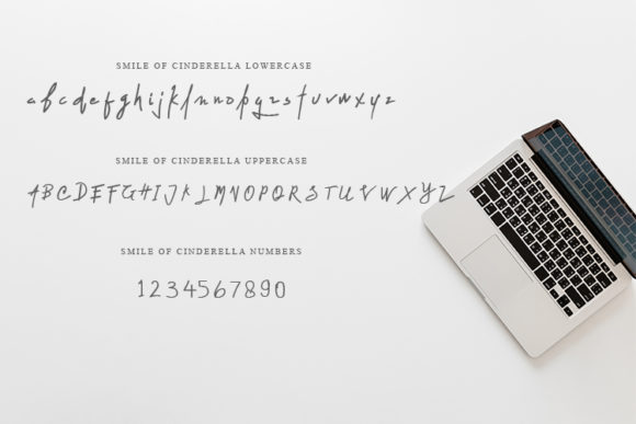 Print on Demand: Smile of Cinderella Script & Handwritten Font By MJB Letters - Image 5