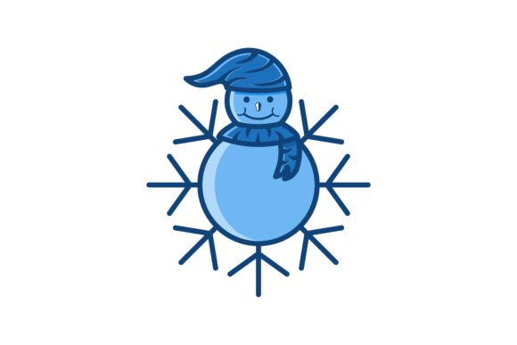 Download Free Snowball And Snow Logo Graphic By Yahyaanasatokillah Creative for Cricut Explore, Silhouette and other cutting machines.
