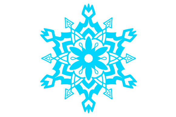 Snowflake Intricate cuts Craft Cut File By Creative Fabrica Crafts