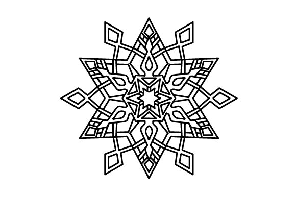 Download Free Snowflake Svg Cut File By Creative Fabrica Crafts Creative Fabrica for Cricut Explore, Silhouette and other cutting machines.
