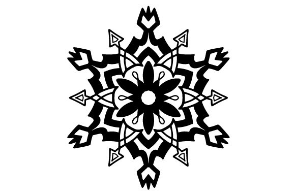 Snowflake Intricate cuts Craft Cut File By Creative Fabrica Crafts - Image 2