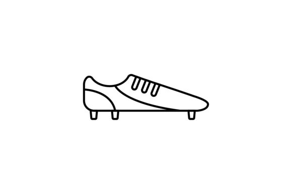 Print on Demand: Soccer Boot Graphic Icons By khld939