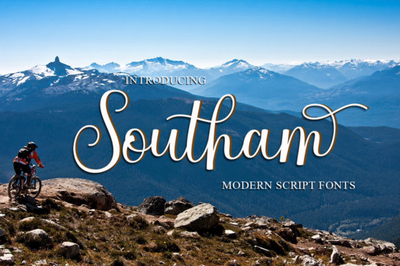 Print on Demand: Southam Script & Handwritten Font By Romie Creative