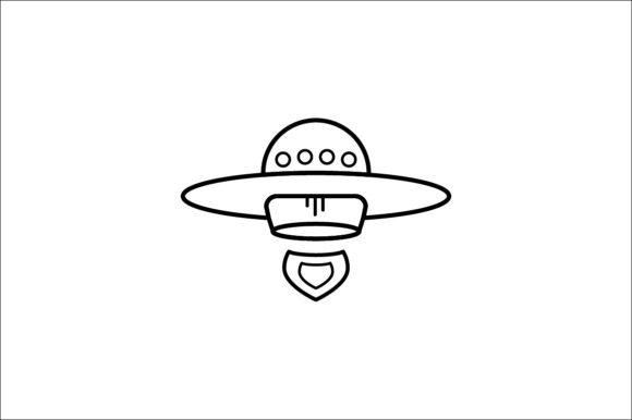 Print on Demand: Spaceship Graphic Icons By khld939