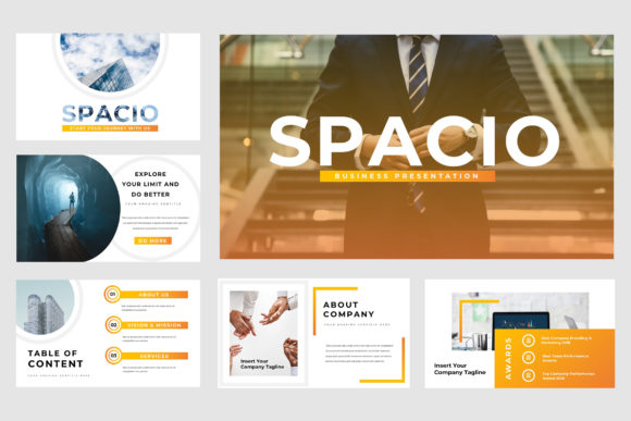 Spacio Powerpoint Presentation Graphic Presentation Templates By TMint - Image 2