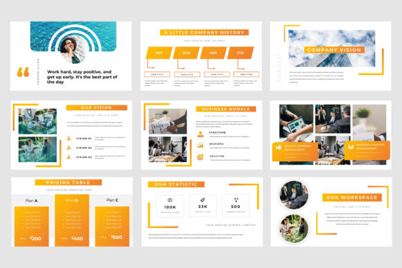 Spacio Powerpoint Presentation Graphic Presentation Templates By TMint - Image 3