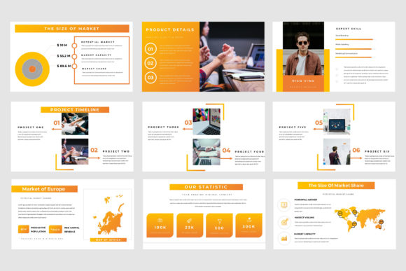 Spacio Powerpoint Presentation Graphic Presentation Templates By TMint - Image 4