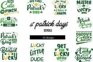 Download Free St Patrick S Day Quotes Bundle Grafico Por Graphicrun123 for Cricut Explore, Silhouette and other cutting machines.