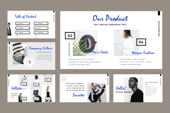 Standout Powerpoint Presentation Graphic Presentation Templates By TMint - Image 2