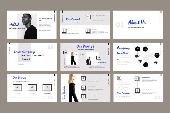Standout Powerpoint Presentation Graphic Presentation Templates By TMint - Image 3
