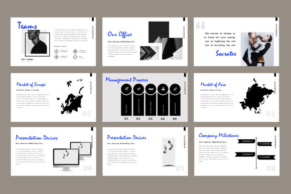 Standout Powerpoint Presentation Graphic Presentation Templates By TMint - Image 5