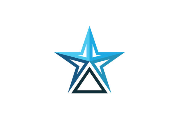Star Logo Graphic Logos By Friendesigns