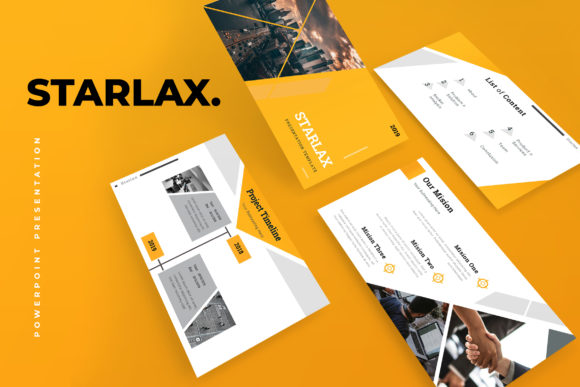 Starlax Pitch Deck Powerpoint Presentation Graphic By TMint