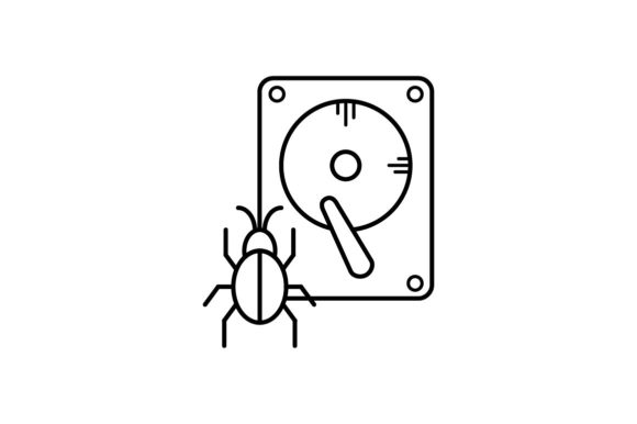 Print on Demand: Storage Infected Graphic Icons By khld939
