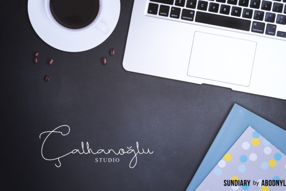 Print on Demand: Sundiary Script & Handwritten Font By Abodaniel - Image 3