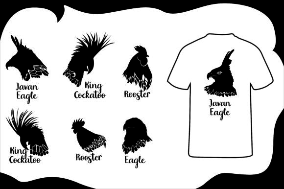 Download Free T Shirt Bird Silhouette Bundle Graphic By Arief Sapta Adjie for Cricut Explore, Silhouette and other cutting machines.