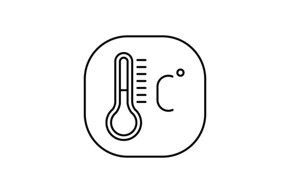 Print on Demand: Temperature Graphic Icons By khld939