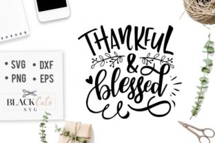 Thankful & Blessed Graphic By sssilent_rage