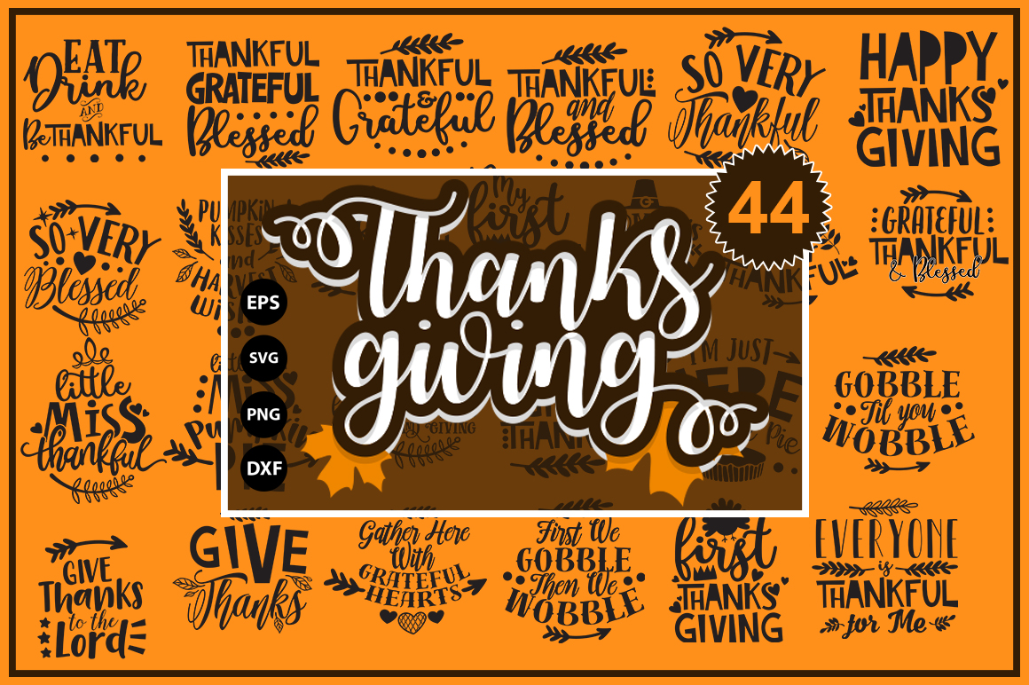 Download Free Thanksgiving Fall Bundle Graphic By Svgbundle Net Creative Fabrica for Cricut Explore, Silhouette and other cutting machines.