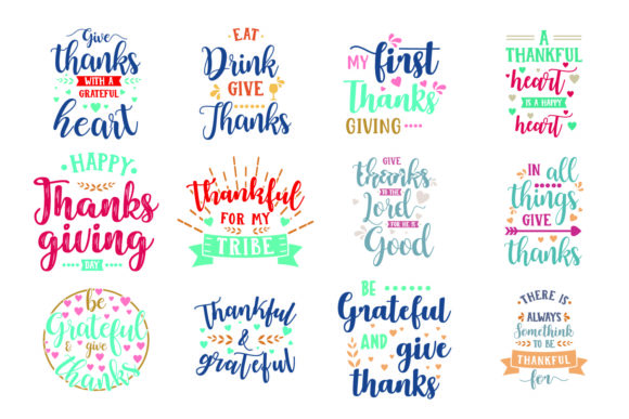 Download Free Thanksgiving Bundle Graphic By Graphicrun123 Creative Fabrica for Cricut Explore, Silhouette and other cutting machines.