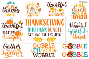 Thanksgiving SVG Bundle Graphic By thedesignhippo