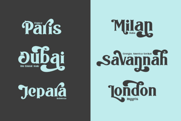 Print on Demand: The Bodbug Serif Font By mrkhoir012 - Image 4