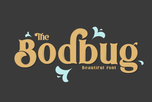 Print on Demand: The Bodbug Serif Font By mrkhoir012 - Image 1