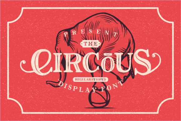 Print on Demand: The Circous Display Font By 24Design Studios