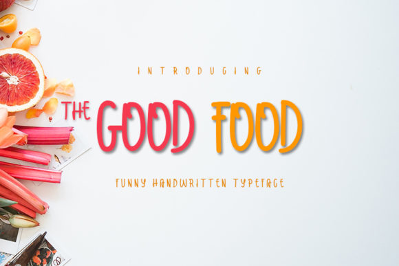Print on Demand: The Good Food Script & Handwritten Font By MJB Letters - Image 1