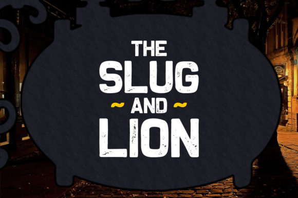 Print on Demand: The Slug and Lion Display Font By Chequered Ink