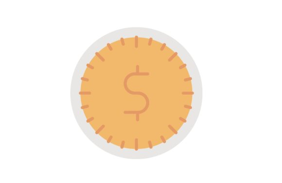 Print on Demand: Time is Money Graphic Icons By Iconika