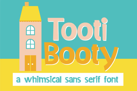 Print on Demand: Tooti Booty Sans Serif Font By Illustration Ink