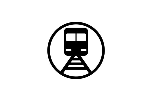 Download Free Train Monochrome Icon Vector Graphic By Hoeda80 Creative Fabrica for Cricut Explore, Silhouette and other cutting machines.