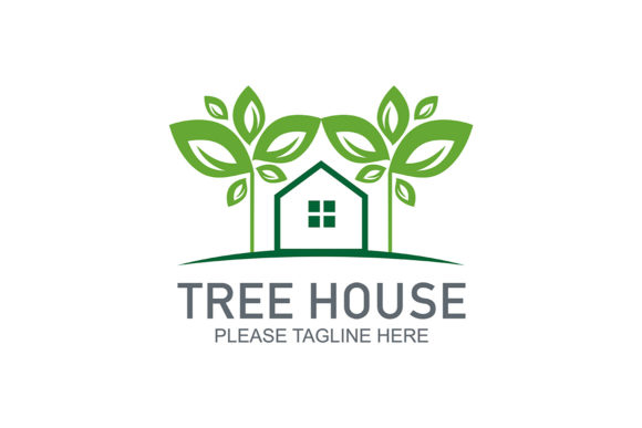 Download Free Tree House Logo Graphic By Friendesigns Creative Fabrica for Cricut Explore, Silhouette and other cutting machines.