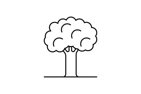 Print on Demand: Tree Graphic Icons By khld939