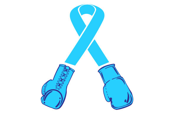 Download Free Turqoise Ribbon With Boxing Gloves At The End Svg Cut File By for Cricut Explore, Silhouette and other cutting machines.