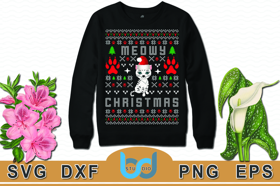 Download Free Ugly Christmas Sweater And T Shirt Design Graphic By for Cricut Explore, Silhouette and other cutting machines.