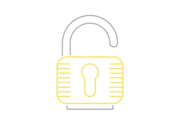 Print on Demand: UnLock Graphic Icons By Iconika