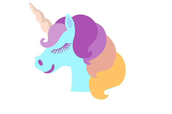 Download Free Unicorn Head Svg Cut File By Creative Fabrica Crafts Creative for Cricut Explore, Silhouette and other cutting machines.
