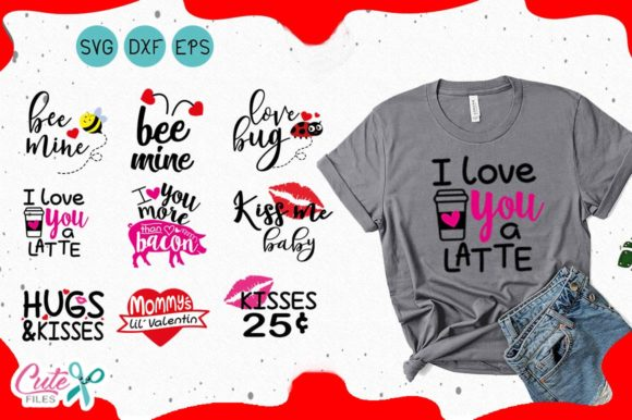 Valentines Day Quote Graphic By Cute Files Creative Fabrica