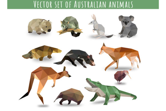 Vector Animals Bundle Graphic Illustrations By Vector City Skyline - Image 2