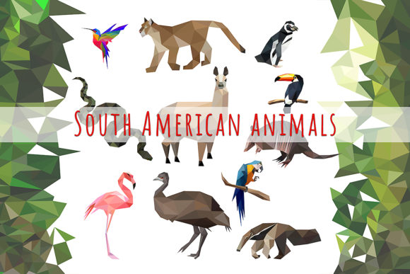 Vector Animals Bundle Graphic Illustrations By Vector City Skyline - Image 4