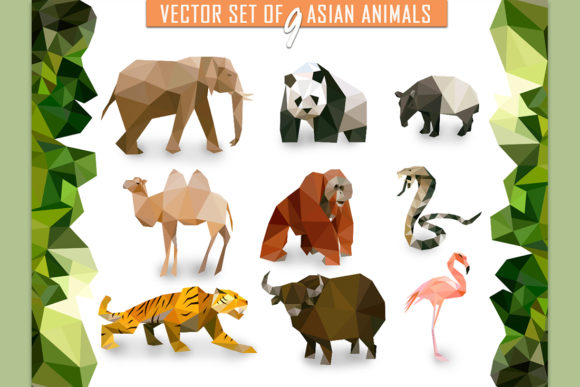 Vector Animals Bundle Graphic Illustrations By Vector City Skyline - Image 5